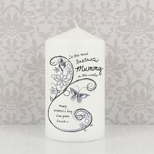 Flower Pattern Candle delivery to UK [United Kingdom]