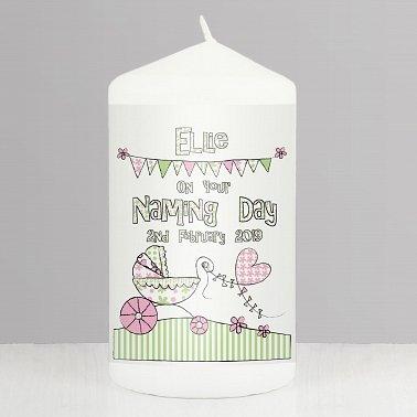 Whimsical Pram Candle delivery to UK [United Kingdom]