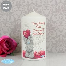 Personalised Me To You Heart Candle delivery to UK [United Kingdom]