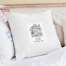 Old Series Map Home Cushion Cover
