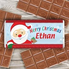 Santa Chocolate Bar delivery to UK [United Kingdom]