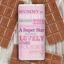 Personalised She Is... Milk Chocolates Bar