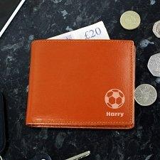 Brown Football Wallet