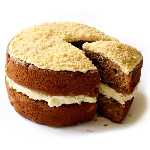 Apple Crumble Sponge Cake delivery to UK [United Kingdom]