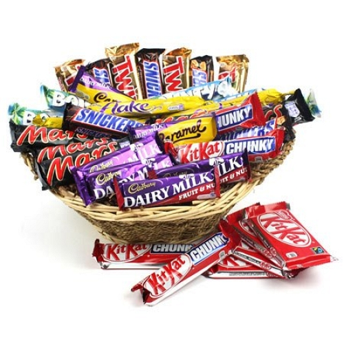 Assorted Chocolates Basket delivery to UK [United Kingdom]