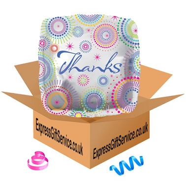 Thanks Dots Foil Balloon Delivery to UK
