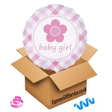 Baby Girl Balloon delivery to UK [United Kingdom]