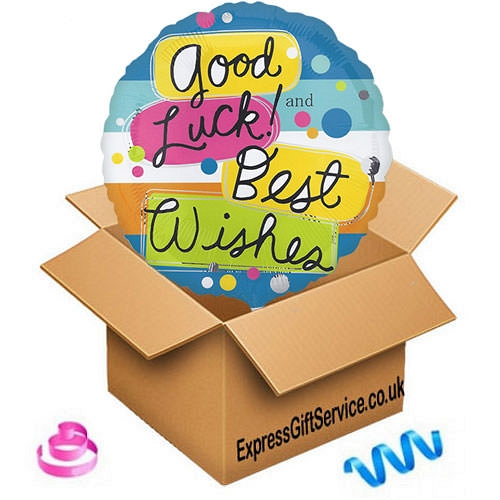 Good Luck Balloon delivery to UK [United Kingdom]