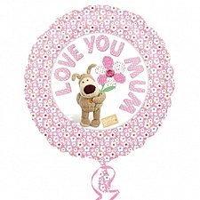 Boofle Love You Mum Balloon delivery UK