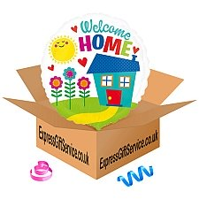 Welcome Home Standard Foil Balloon Delivery to UK