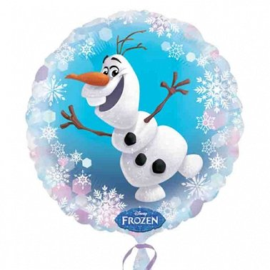 Frozen Olaf Balloon delivery to UK [United Kingdom]