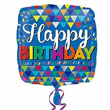 HB Primary Triangles 50 Balloon delivery to UK