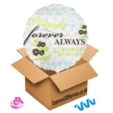 Forever Always Balloon delivery to UK [United Kingdom]