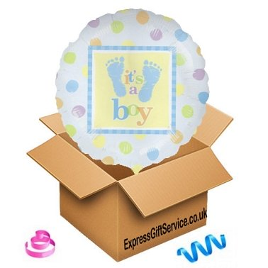 Its A Boy Balloon delivery to UK [United Kingdom]