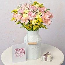 Pastel Birthday Cake Gift