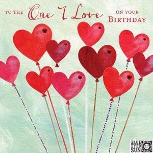 One Love Birthday Card