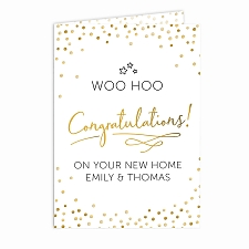 Personalised Congratulations Card Delivery to UK