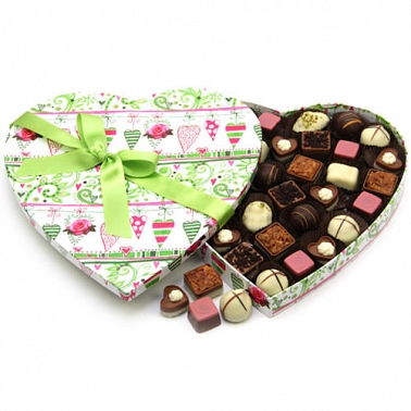Passion Heart Chocolate Box delivery UK