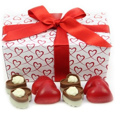 Sweet Hearts Ballotin Box Delivery UK