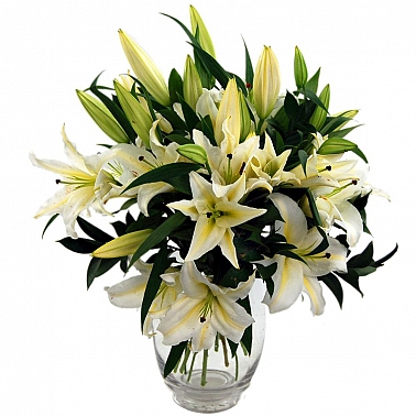Lilies Romance delivery to UK [United Kingdom]