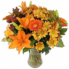Autumn Glow Bouquet Delivery to UK
