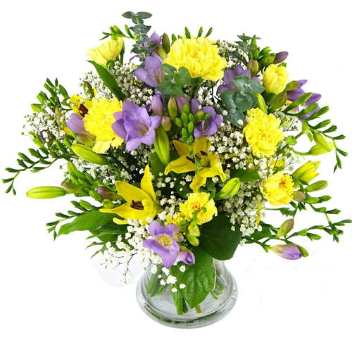 Fairy Tale Lilies and Freesias delivery to UK