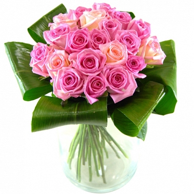 Grace Pink Roses Delivery to UK
