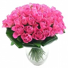 Luxury 50 Pink Rose Bouquet delivery UK