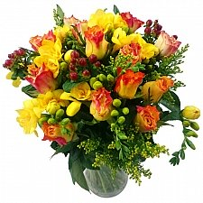 Rose and Freesia Delivery UK