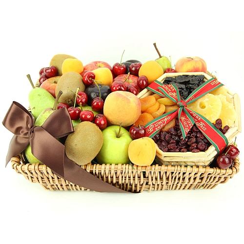 Gift Baskets Toronto Fruit : Tropical mix fruit basket send uk