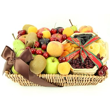 Tropical Mix Fruit Basket delivery to UK [United Kingdom]