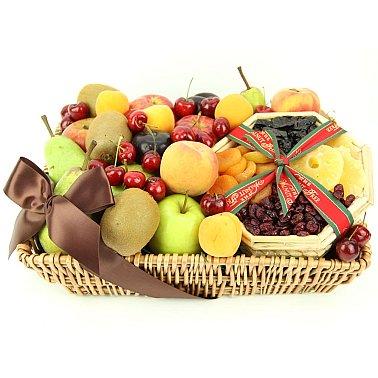 Tropical Mix Fruit Basket delivery to UK [United Kingdom]