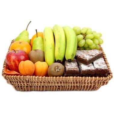 Delight Fruit Basket delivery to UK [United Kingdom]