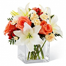 Blushing Beauty Bouquet delivery USA