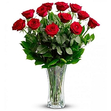 Classic Red Roses Bouquet delivery to United States