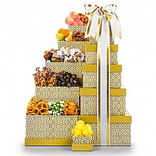 Honey Gold Gourmet Gift Tower delivery USA