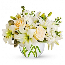Isle of White Bouquet delivery to United States