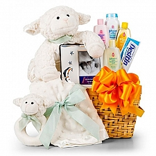 Cuddle Lamb Baby Gift Set delivery USA