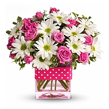 Polka Dots and Posies delivery to United States