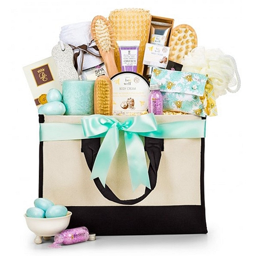 Tranquility Bathroom Collection Tranquility Spa Collection Hampers Delivery  USA .