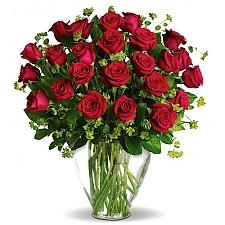 Two Dozen Red Rose Delight