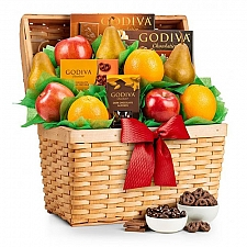 Fresh Fruit and Godiva Chocolates