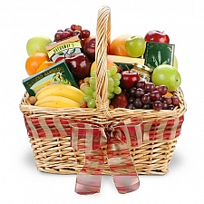 Simply Delicious Fruit & Gourmet Basket