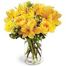 Golden Radiance Bouquet