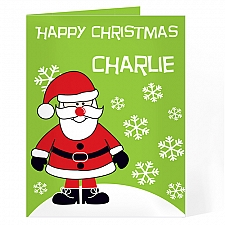 Personalised Santa Card delivery to UK [United Kingdom]