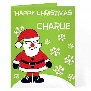 Personalised Santa Card delivery to UK [United Kingdom]