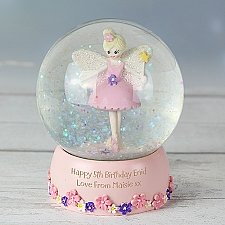 Personalised Fairy Glitter Snow Globe delivery to UK [United Kingdom]
