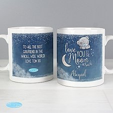 Personalised Love You to the Moon and Back Mug