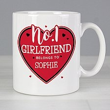 Personalised No.1 Belongs To Mug
