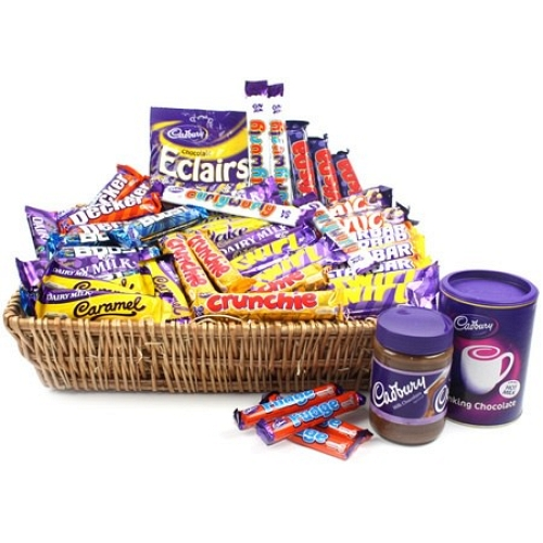 XL Cadburys Basket delivery to UK [United Kingdom]